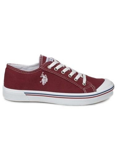 U.S. Polo Assn. Erkek Ayakkabı Penelope 101006271 Bordo